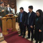 Missionário Éder Rosa e família despediram-se da igreja na Área Sul de Portugal