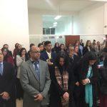 A nova congregação ficou superlotada