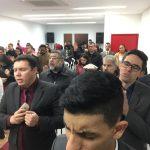 O culto foi realizado na congregação Grândola