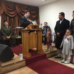 O Dc. Reginaldo Antão assumiu a congregação Grândola