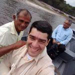 Viagem de canoa para chegar no interior de Manaus/AM