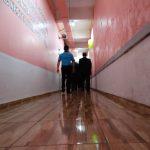 2 Na entrada da galeria dos irmãos, destaque para o novo piso, colocado graças à contribuição da igreja e da direção da casa prisional