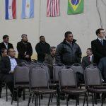 Alguns dos missionários presentes
